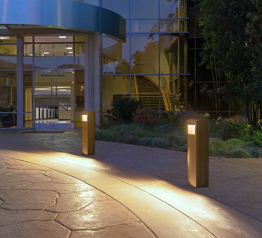 building entrance lighting