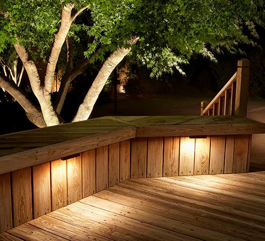 exterior lighting deck