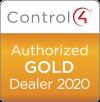 Control4 Authorized Gold Dealer 2020 logo