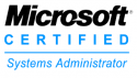 Microsoft Certified Systems Administrator logo